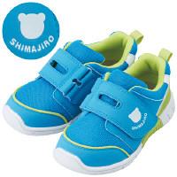 まいにちの靴キッズ ブルー 15.0cm