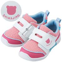【たまひよショップ すっく ロハコ館】 まいにちの靴キッズ ピンクサックス 17.0cm