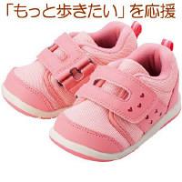 【たまひよショップ すっく ロハコ館】 まいにちの靴 ベビー ピンク 13.5cm