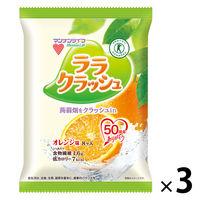 蒟蒻畑ララクラッシュ オレンジ味 3袋