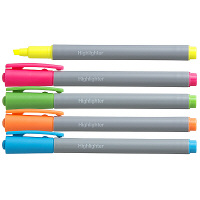 アスクル蛍光ペン 5色×各2本