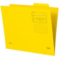 個別フォルダーカラー A4 黄 10枚