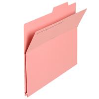 プラス 持ち出しフォルダー A4 ピンク FL-061PF 87138 1箱(100枚:10枚入×10袋)