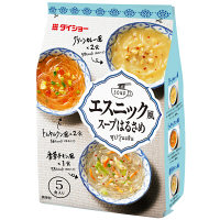 インスタント エスニック風スープはるさめ(香草チキン風・トムヤムクン風・グリーンカレー風) 1袋(5食入) ダイショー