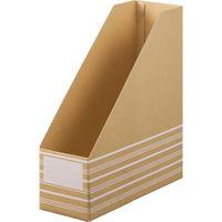 ボックスファイル A4タテ 10冊 ダンボール製 アスクル