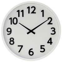 ladonna(ラドンナ) ウォールクロック [電波 掛け 時計] ホワイト DT01-WH 1個 (取寄品)