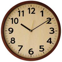 ladonna(ラドンナ) ウォールクロック [電波 掛け 時計] ブラウン DT03-BR 1個 (取寄品)