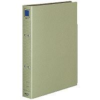 コクヨ チューブファイル(保存用) A4タテ とじ厚30mm グレー フ-VM630M 1箱(20冊入)