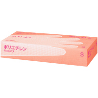 川西工業 ポリエチレン手袋 外エンボス S 1箱(200枚入) (使い捨て手袋)