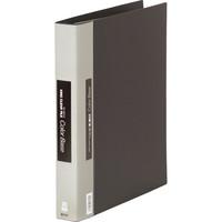 キングジム クリアファイル 差し替え式 20冊 A4タテ背幅40mm カラーベース 黒 139W