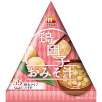 インスタント 三角パックごちそう具材 鶏団子のおみそ汁 1セット(10食) ハナマルキ