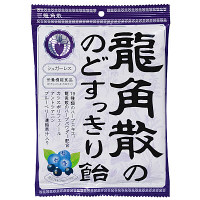 龍角散 龍角散ののどすっきり飴 カシス&ブルーベリー 1袋