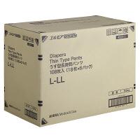 アスクル×エルモアいちばん うす型長時間パンツL-LL 1箱(18枚×6パック入)