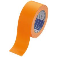 【ガムテープ】カラー布粘着テープ No.890 0.22mm厚 50mm×25m オレンジ Monf 古藤工業 1巻