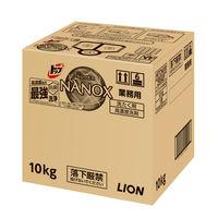 ライオン トップ スーパーナノックス(NANOX) 10kg コック付