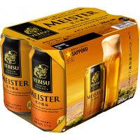 サッポロビール サッポロ エビス マイスター 350ml×6缶