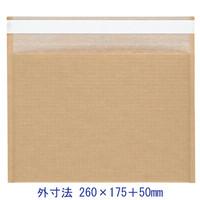 酒井化学工業 ENクッション封筒(茶)小サイズ EN封筒袋 260×175+50 1セット(100枚)