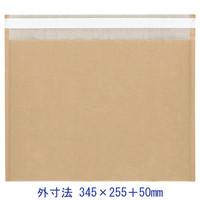 酒井化学工業 ENクッション封筒(茶)大サイズ 100袋入 EN封筒袋 345×255+50