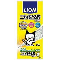 ライオン ペットキレイ ニオイをとる砂 2.7L 1袋