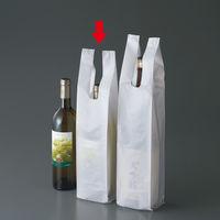 瓶・ボトル用レジ袋 乳白 ワイン1本用 乳白 IRL-WNNH 1箱(1000枚:100枚入×10袋) 伊藤忠リーテイルリンク