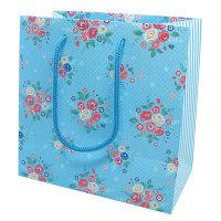 カクケイ 手提げ紙袋 フレンチフラワー S FK2315 1セット(10枚) (取寄品)