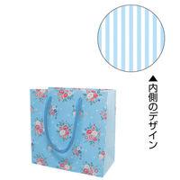 カクケイ 手提げ紙袋 フレンチフラワー SS FK2316 1セット(10枚) (取寄品)