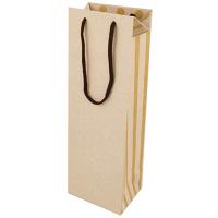 カクケイ ワイン用 紙手提げ袋 ホワイト FK2332 1セット(10枚) (取寄品)