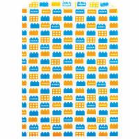 カクケイ 紙袋 平袋ブロック 2号 フ-901 1セット(100枚) (取寄品)