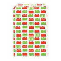 カクケイ 紙袋 平袋ブロック 5号 フ-902 1セット(200枚) (取寄品)