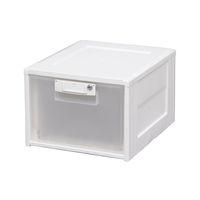 アイリスオーヤマ ファイル用引き出し収納ボックス 鍵付き 1セット(4個)