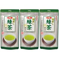 朝日茶業 静岡茶 深蒸し緑茶 1セット(100g×3袋)