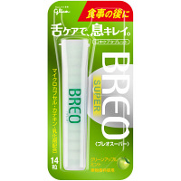 江崎グリコ ブレオスーパー(BREO SUPER) グリーンアップルミント 6708862 1セット(5個入)