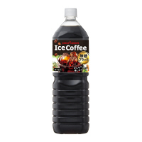 ポッカサッポロフード&ビバレッジ アイスコーヒーブラック無糖 1500ml 1本