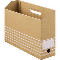 ボックスファイル A4ヨコ 50冊 ダンボール製 アスクル
