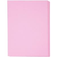 アスクル カラーペーパー 特厚口 ピンク A4 1冊(250枚入)