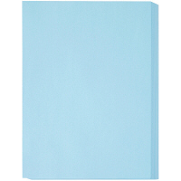 アスクル カラーペーパー 厚口 ブルー A3 1冊(250枚入)