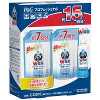 除菌ジョイコンパクト 食器用洗剤 バンドル品2320mL 1セット(本体190mL×1本+超特大詰替1065mL×2個) P&G