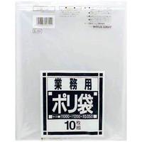日本サニパック 業務用ポリ袋 透明 120L 1000×1200mm L-94