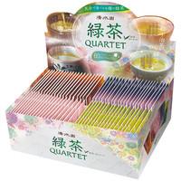 清水園 産地別煎茶ティーバッグ 緑茶カルテット 1箱(80バッグ入)