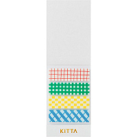 キングジム マスキングテープ KITTA チェック