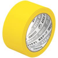 アスクル 「現場のチカラ」 養生テープ きいろ 幅50mm×25m巻 DY5025Y