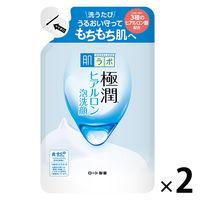 肌研(ハダラボ) 極潤 ヒアルロン泡洗顔 詰替 140mL 1セット(2個) ロート製薬