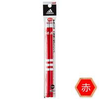三菱鉛筆(uni) 赤鉛筆 アディダス 1パック(2本入)