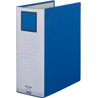 キングジム ドッチファイルエコノミー 100mm 青 1070Nアオ 1箱(10冊入)