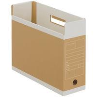 アスクル ボックスファイル〈頑丈設計〉 A4ヨコ 1箱(50冊)