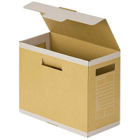 アスクル ボックスファイル〈頑丈設計〉 フタ付 背幅150mm 1セット(15冊)