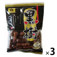 【アウトレット】夏目製菓 黒樹かりんとう 1セット(100g×3袋)