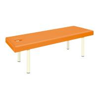 高田ベッド製作所 有孔DXマッサージベッド TBー908U オレンジ ベッド TB-908U 1台  (取寄品)