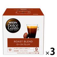 ネスカフェ ドルチェグスト専用カプセル ローストブレンド 1ケース(3箱×16杯分)