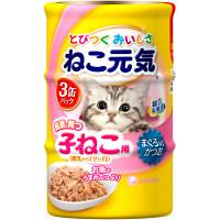 ねこ元気子ねこ総合栄養食缶3缶
